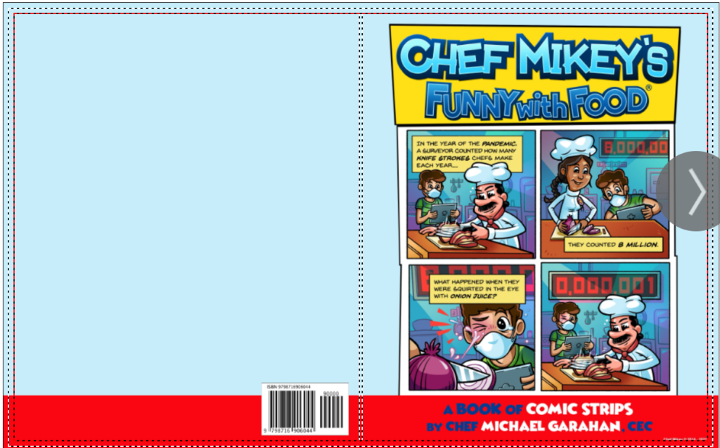 Chef Mikey's Funny With Food (r) Book Cover