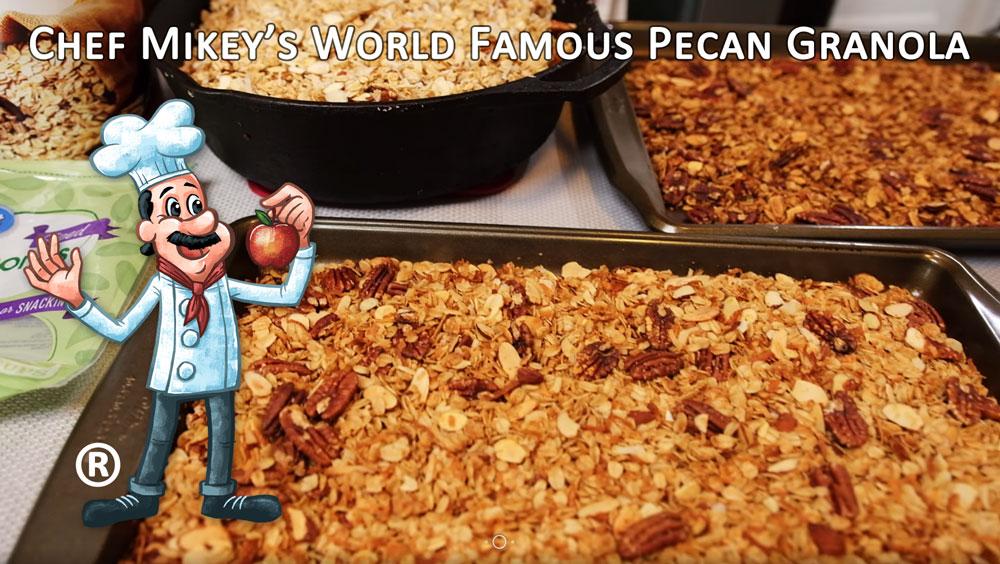 Chef Garahan's World's Best Pecan Granola
